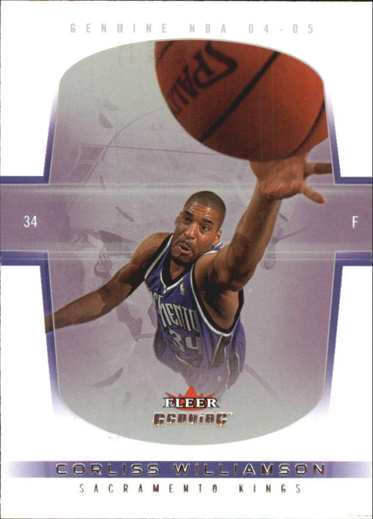 2004-05 Fleer Genuine 100 #16 Corliss Williamson
