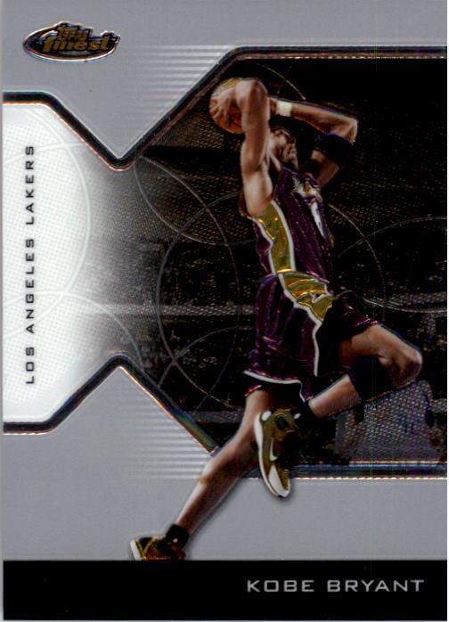 2004-05 Finest #8 Kobe Bryant