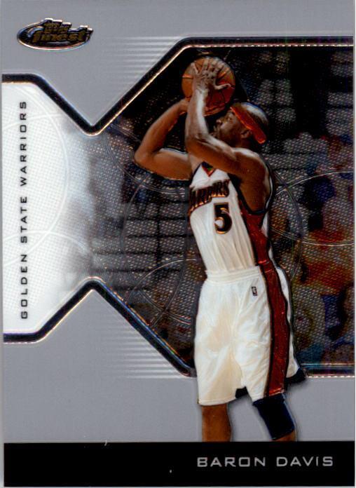 2004-05 Finest #72 Baron Davis