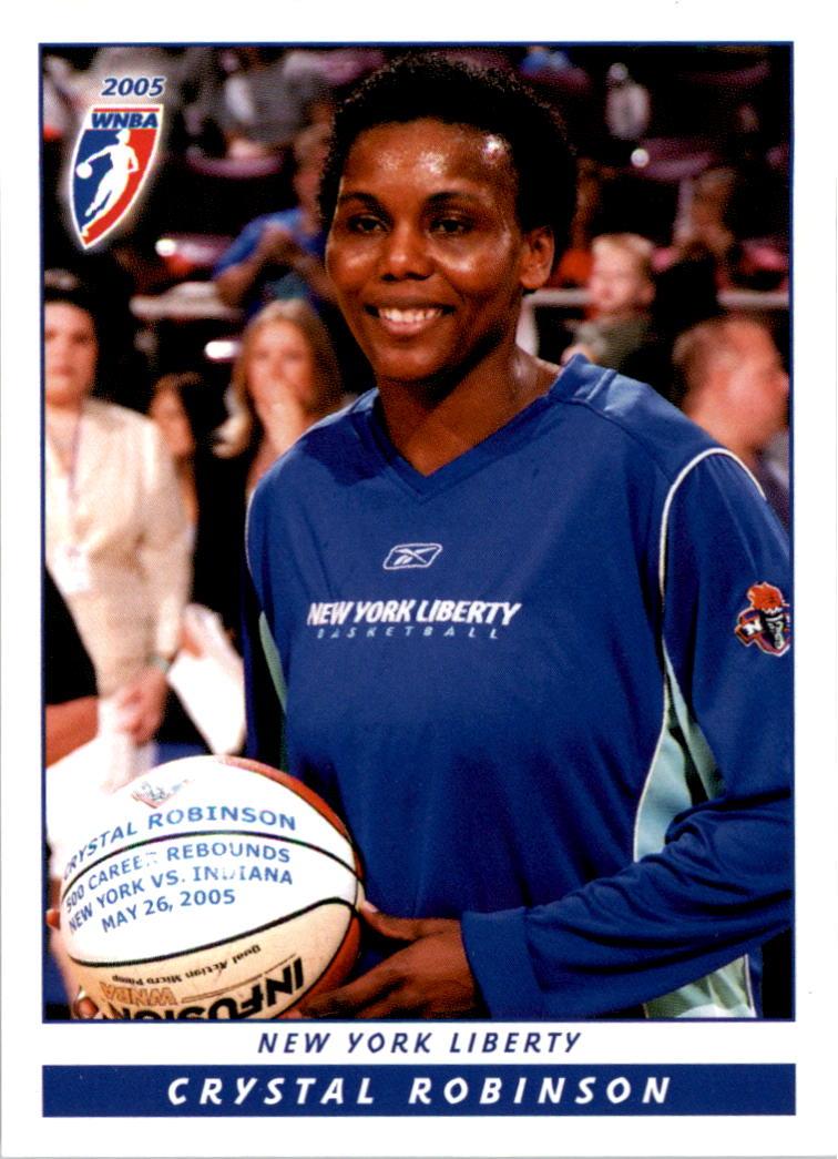 2005 WNBA #3 Crystal Robinson