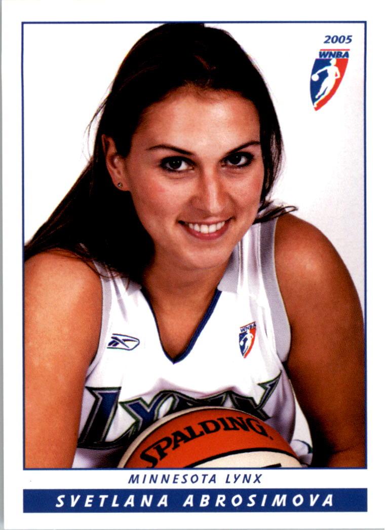 2005 WNBA #6 Svetlana Abrosimova