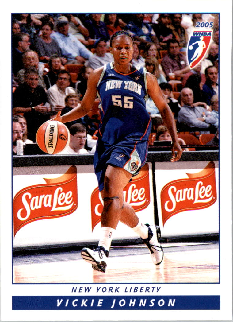 2005 WNBA #12 Vickie Johnson
