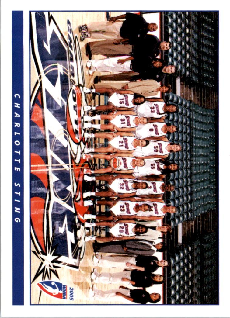 2005 WNBA #13 Charlotte Sting TC