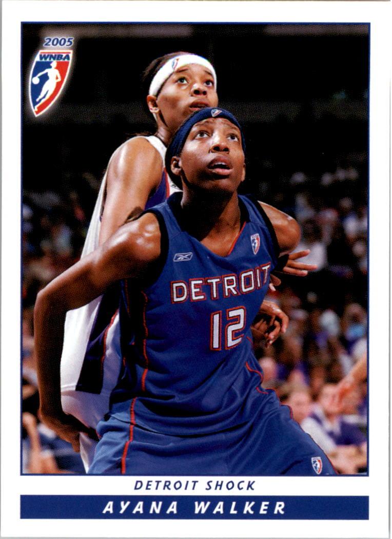 2005 WNBA #14 Ayana Walker
