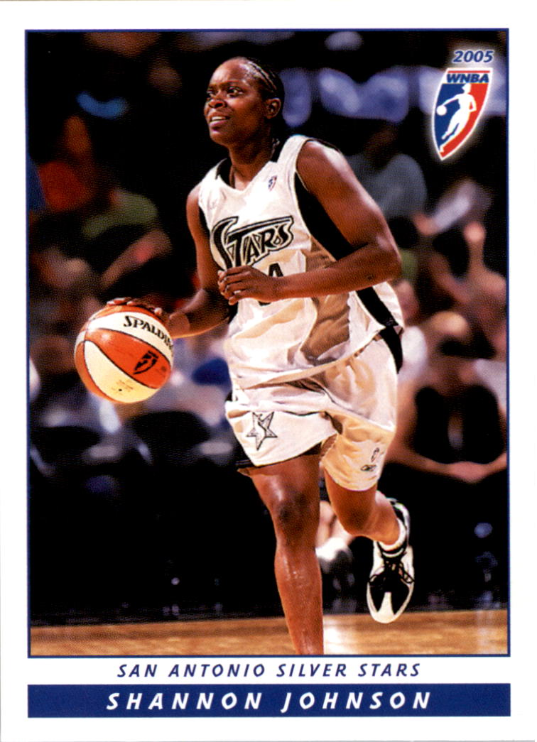 2005 WNBA #15 Shannon Johnson