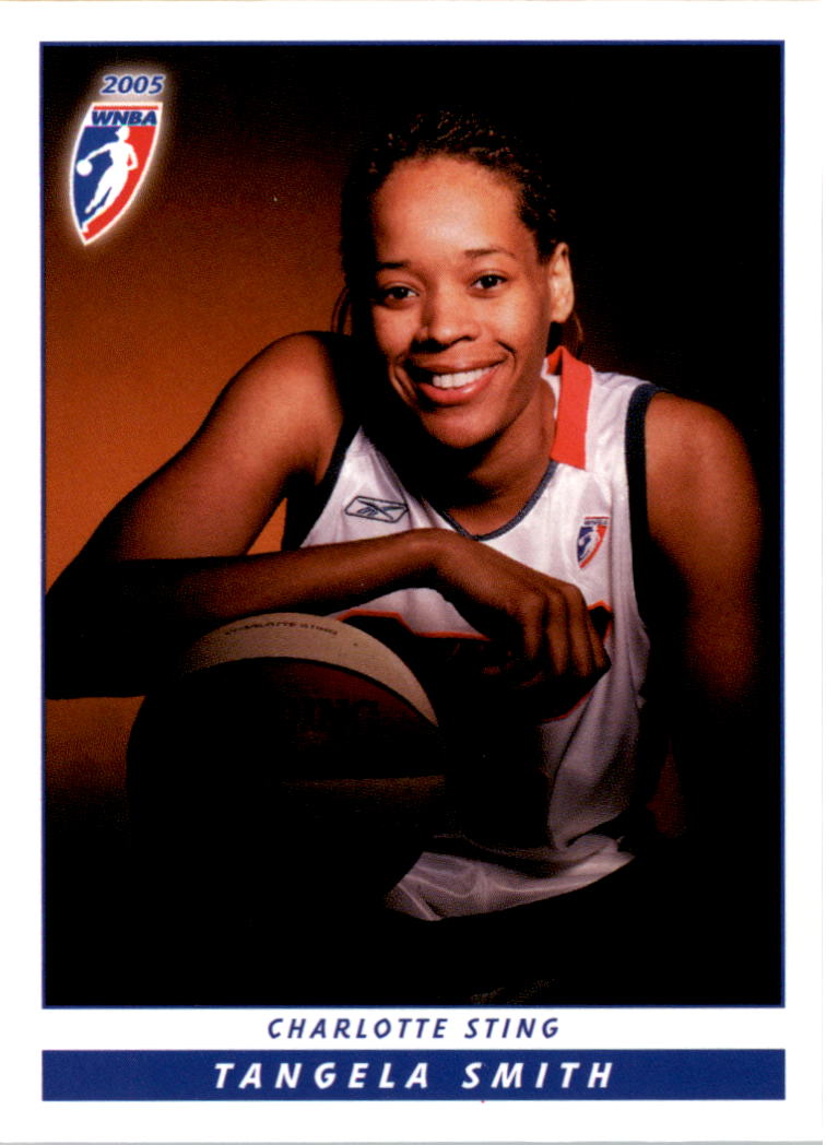 2005 WNBA #16 Tangela Smith