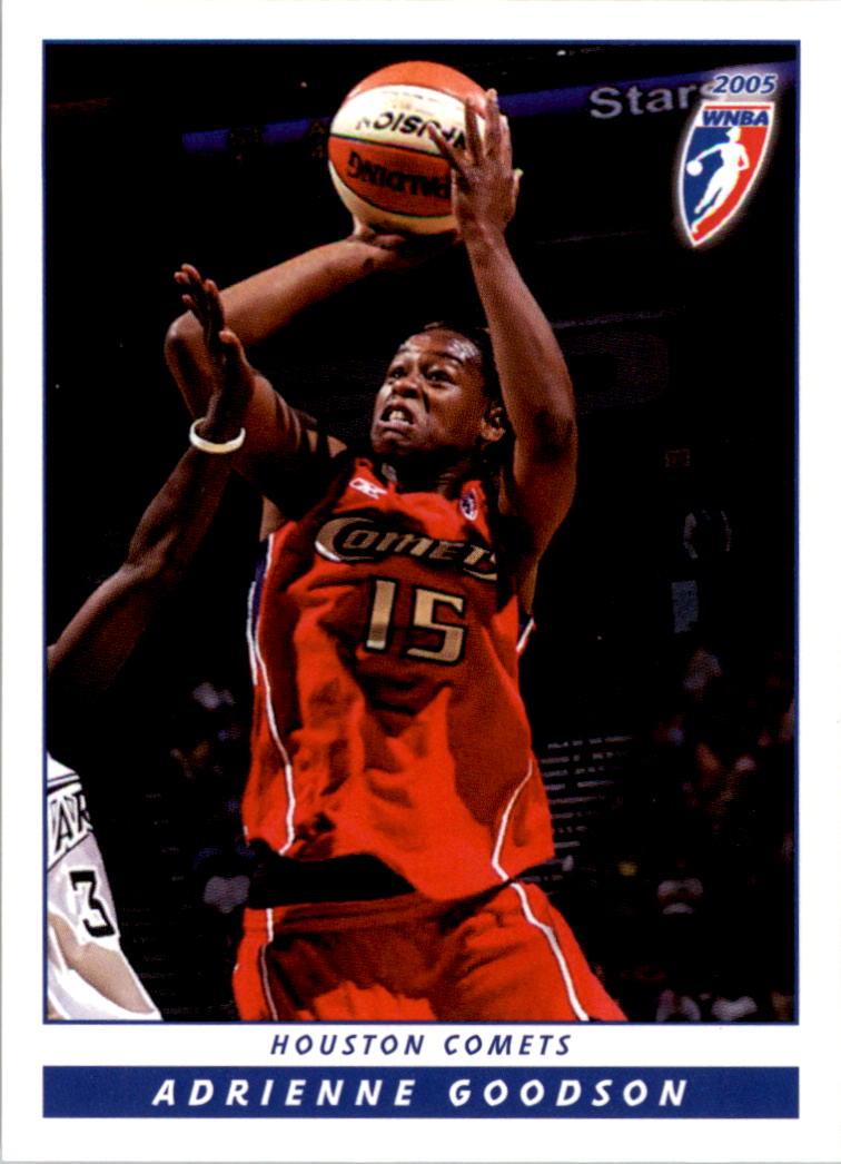 2005 WNBA #19 Adrienne Goodson