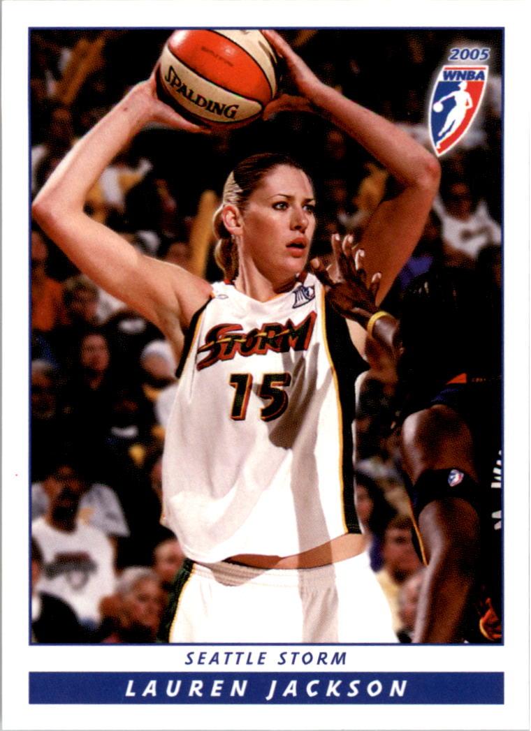 2005 WNBA #20 Lauren Jackson