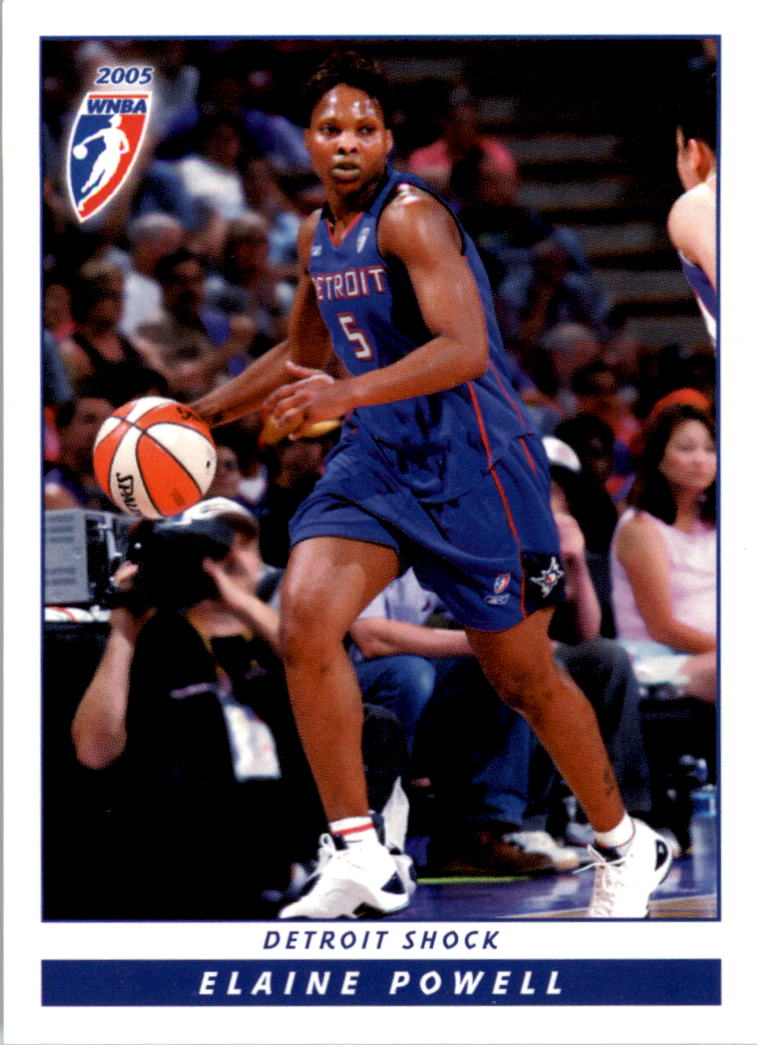 2005 WNBA #21 Elaine Powell