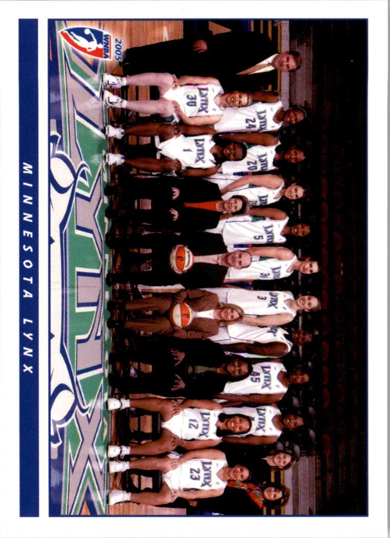 2005 WNBA #22 Minnesota Lynx TC