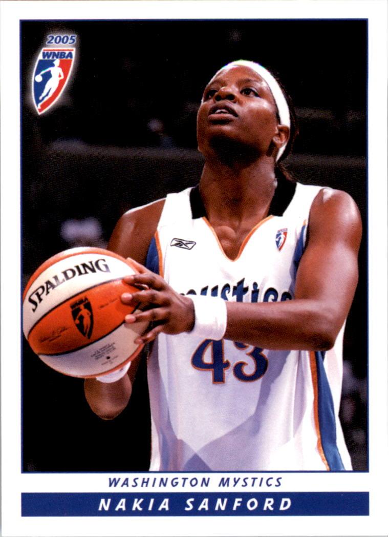 2005 WNBA #43 Nakia Sanford RC