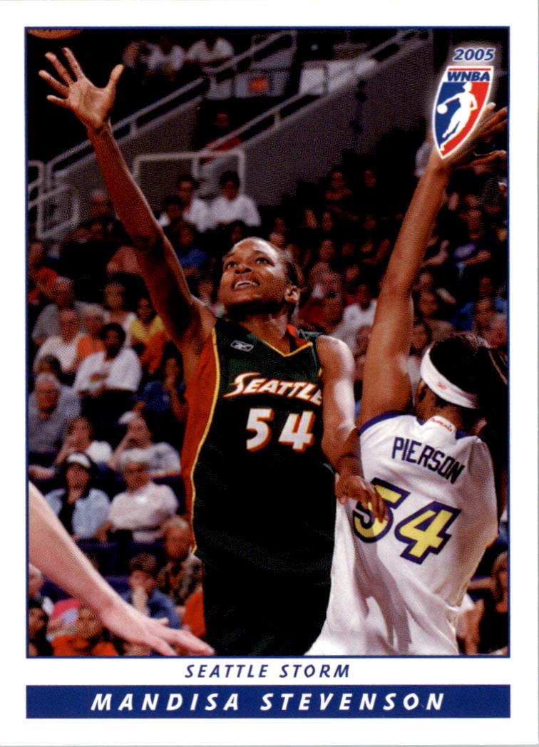 2005 WNBA #99 Mandisa Stevenson RC