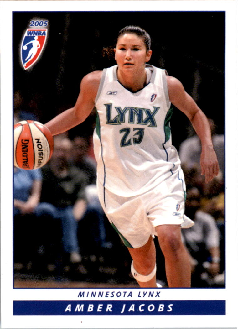 2005 WNBA #102 Amber Jacobs RC