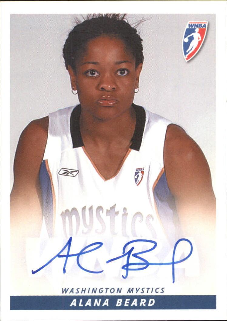 2005 WNBA Autographs #AB1 Alana Beard Posed