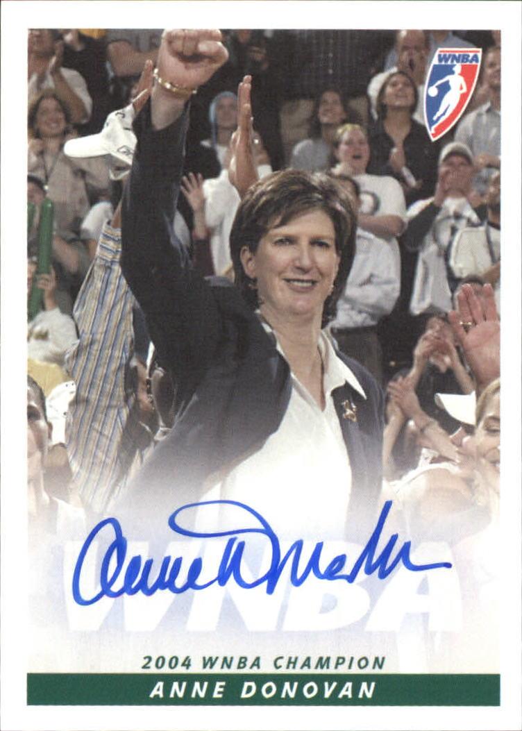 2005 WNBA Autographs #AD Anne Donovan CO