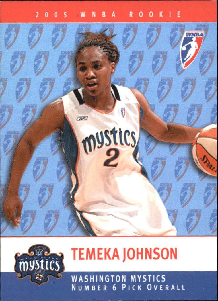 2005 WNBA Rookies #RC6 Temeka Johnson