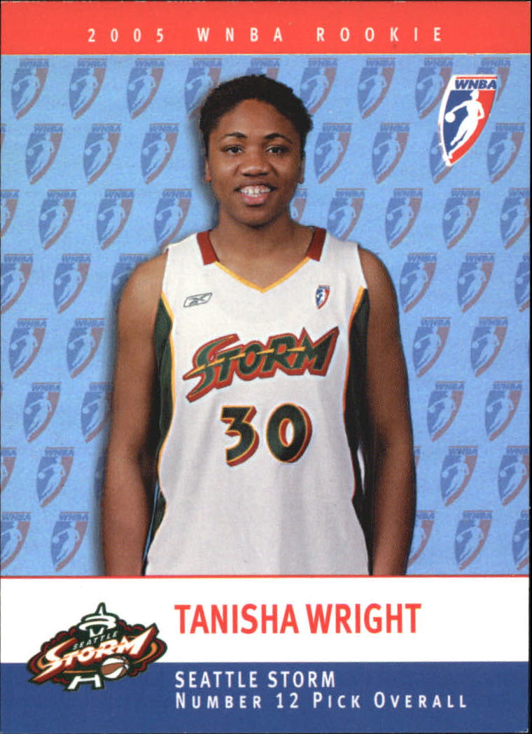 2005 WNBA Rookies #RC12 Tanisha Wright