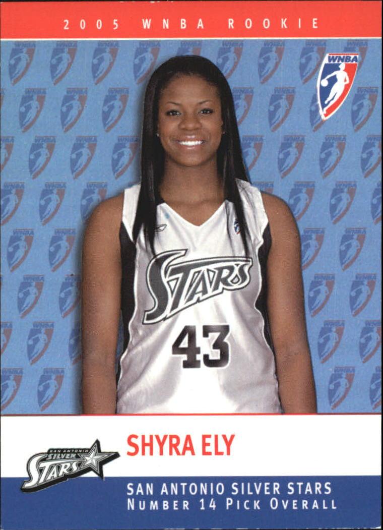 2005 WNBA Rookies #RC13 Shyra Ely