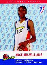 2005 WNBA Rookies #RC17 Angelina Williams