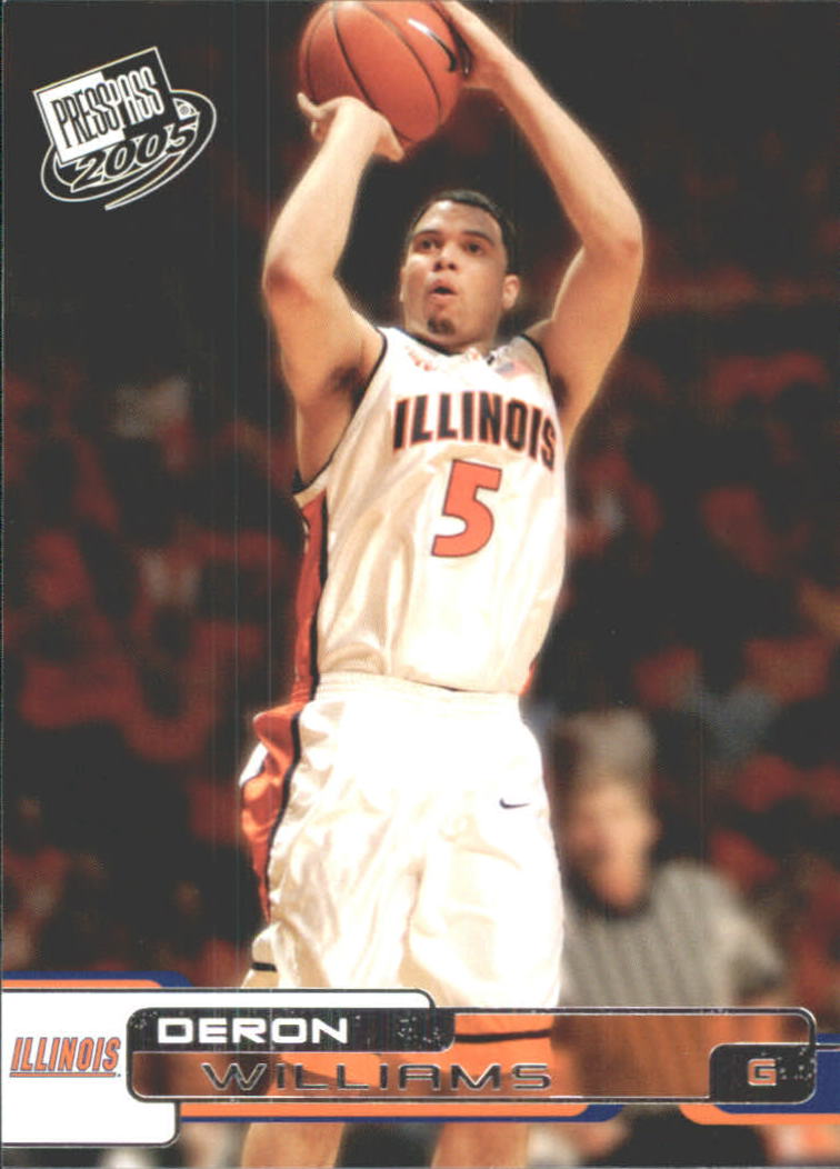 2005 Press Pass #36 Deron Williams