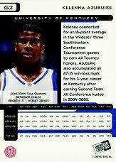2005 Press Pass Gold #2 Kelenna Azubuike back image