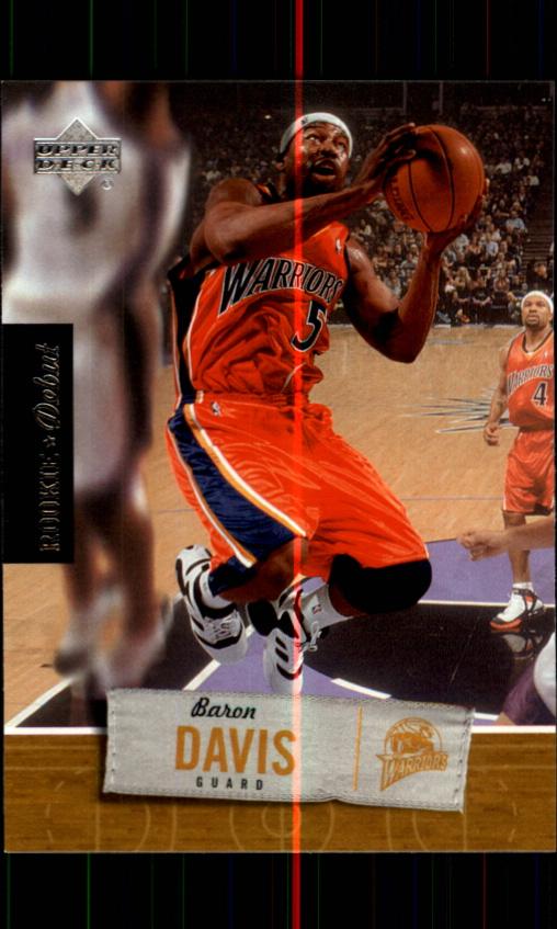 2005-06 Upper Deck Rookie Debut #31 Baron Davis