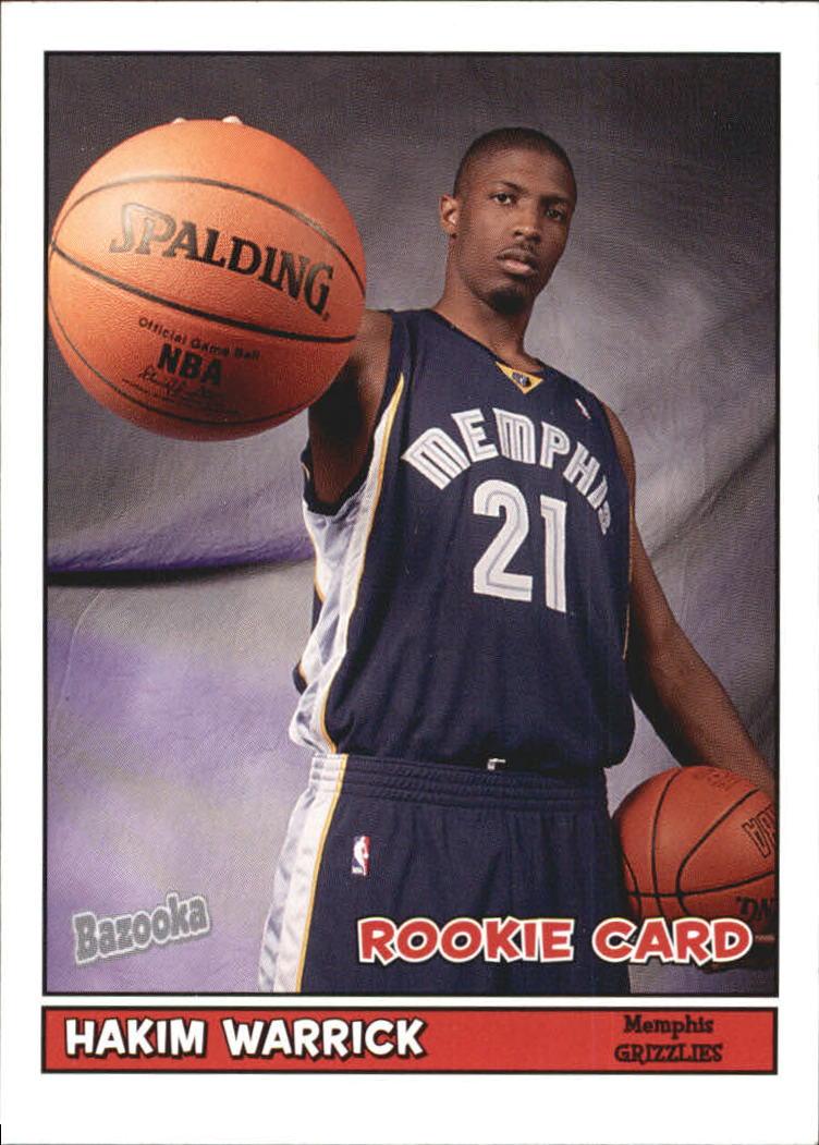 2005-06 Bazooka #175 Hakim Warrick RC