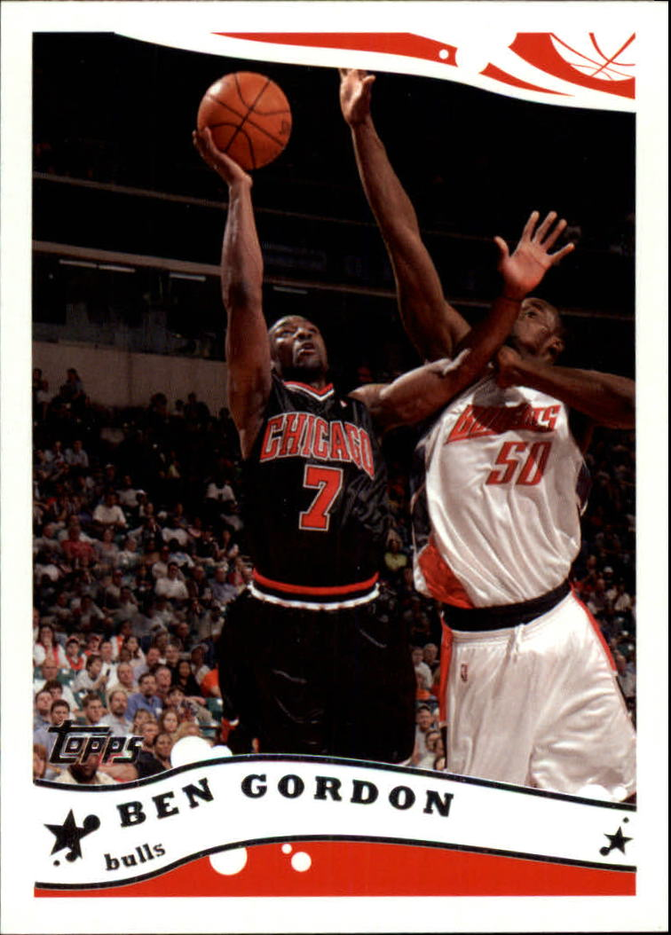 2005-06 Topps #7 Ben Gordon
