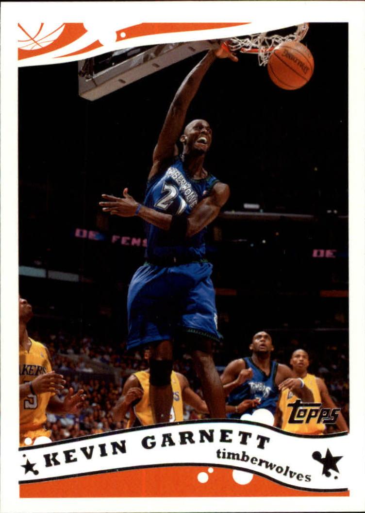 2005-06 Topps #121 Kevin Garnett