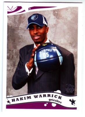2005-06 Topps #239 Hakim Warrick RC