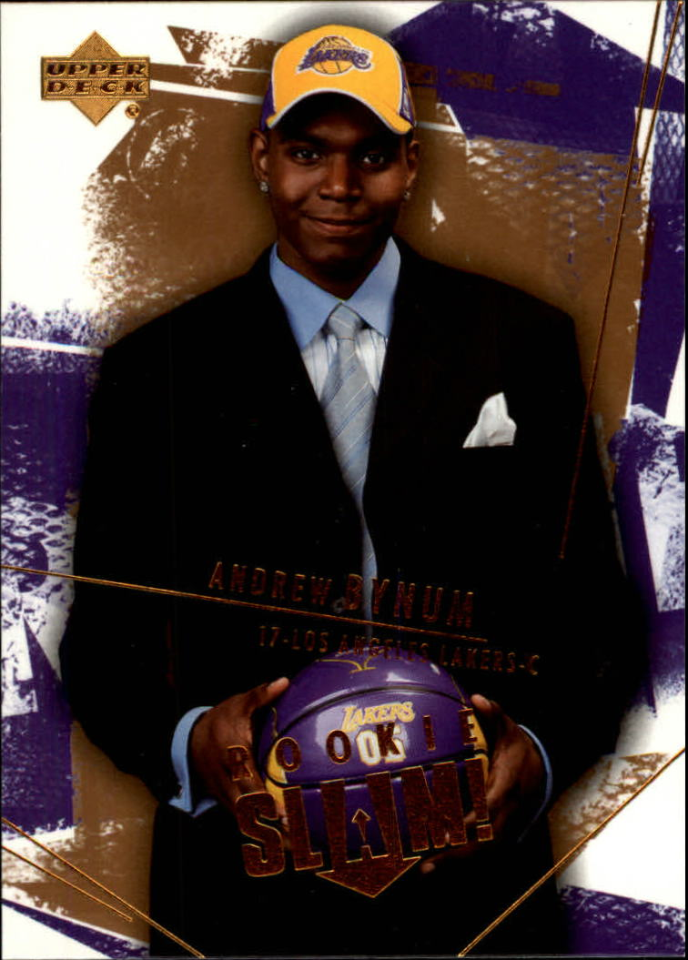 2005-06 Upper Deck Slam #99 Andrew Bynum RC