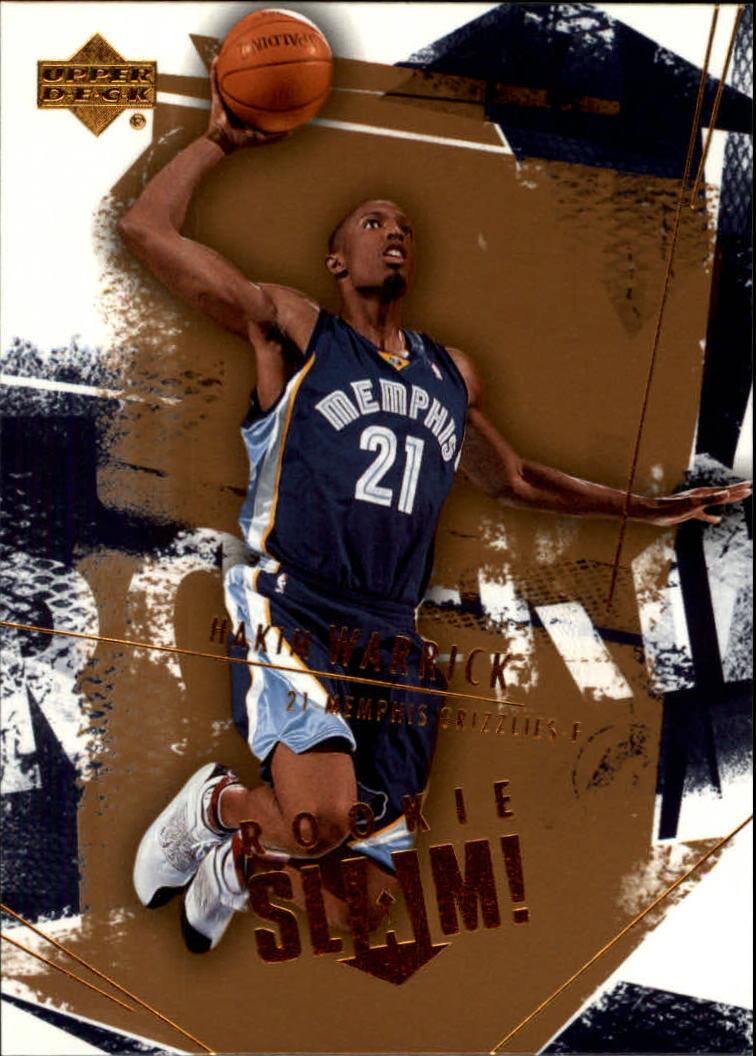 2005-06 Upper Deck Slam #112 Hakim Warrick RC