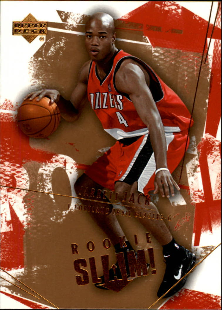 2005-06 Upper Deck Slam #114 Jarrett Jack RC