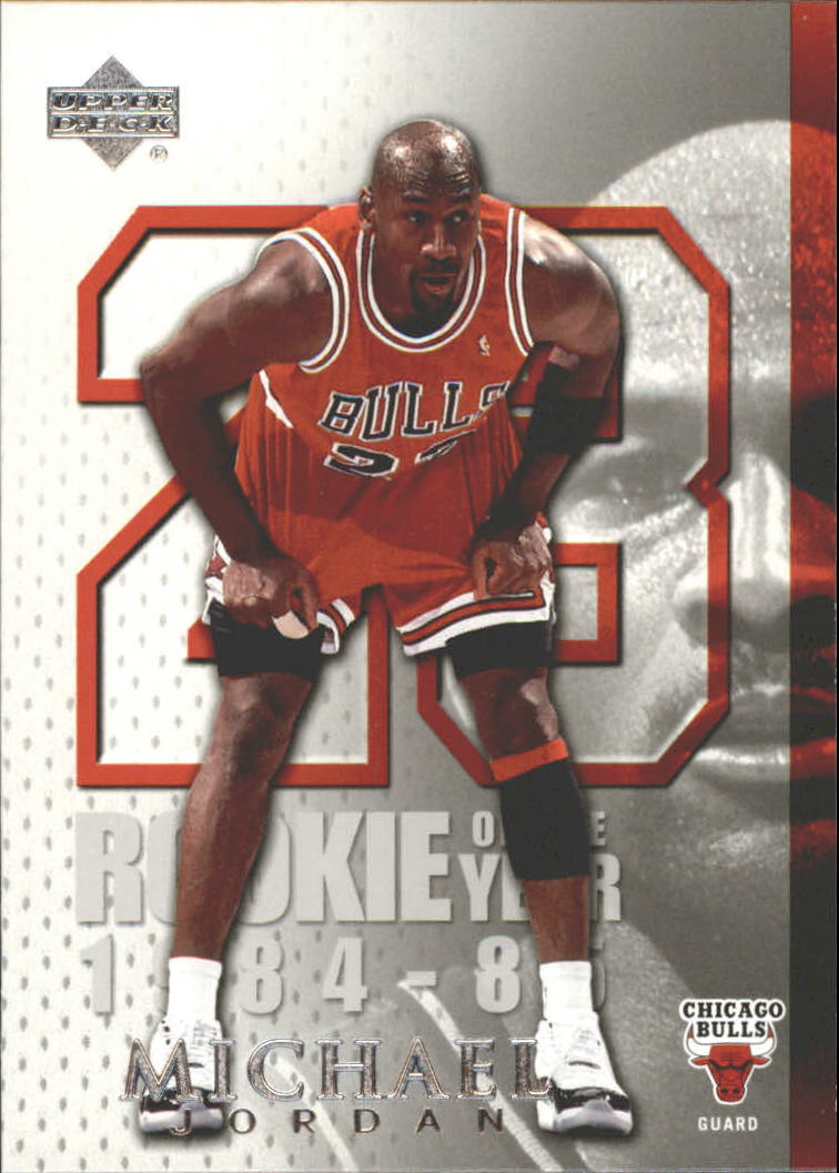 b9ede916ecd 2005-06 Upper Deck Michael Jordan Chicago Bulls Basketball Card  MJ12