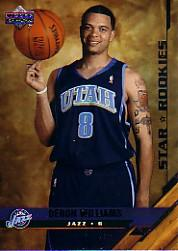 2005-06 Upper Deck #227 Deron Williams SP RC