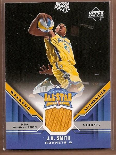 2005-06 Upper Deck All-Star Weekend Authentics #JR J.R. Smith