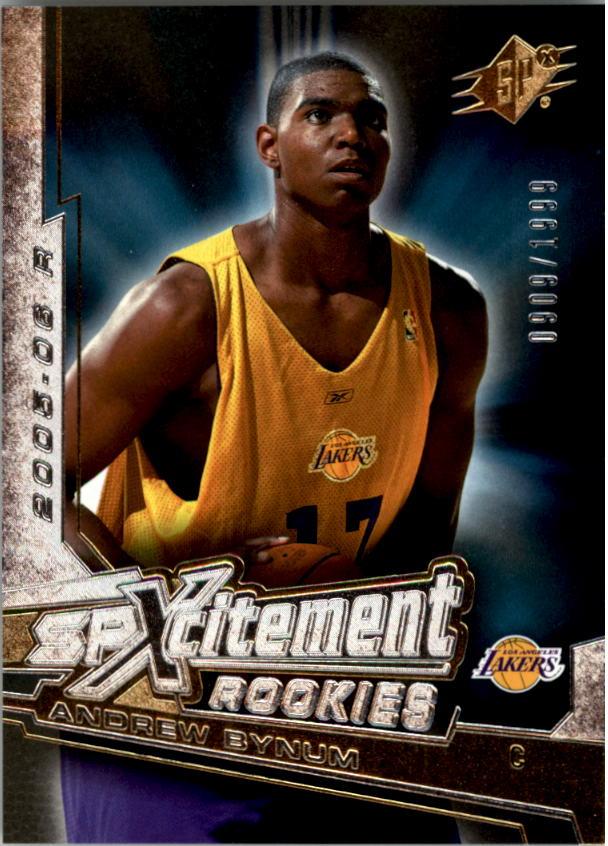 2005-06 SPx SPxcitement Rookies #XCR13 Andrew Bynum