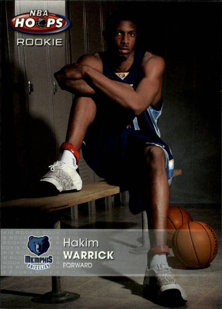 2005-06 Hoops #168 Hakim Warrick RC