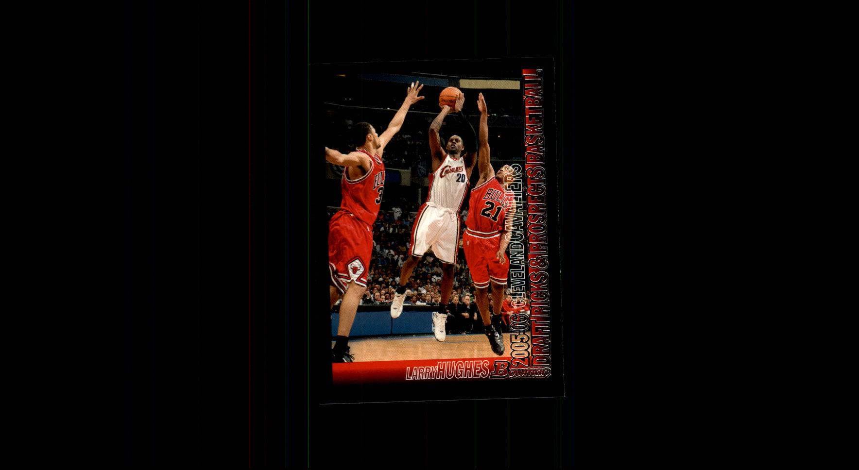 2005-06 Bowman #33 Larry Hughes