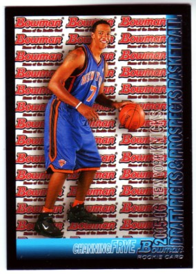 2005-06 Bowman #116 Channing Frye RC