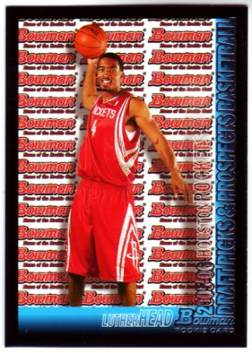 2005-06 Bowman #127 Luther Head RC