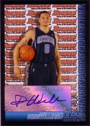 2005-06 Bowman #159 Deron Williams AU RC