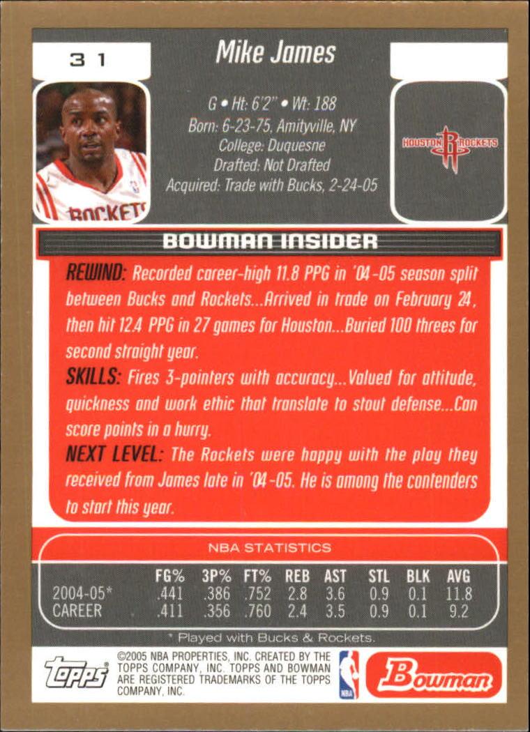 oro Dirk nowitzki 2005//06 Bowman Draft Picks /& Prospects baloncesto,