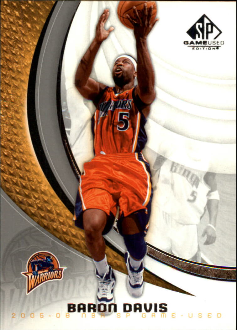 2005-06 SP Game Used #32 Baron Davis