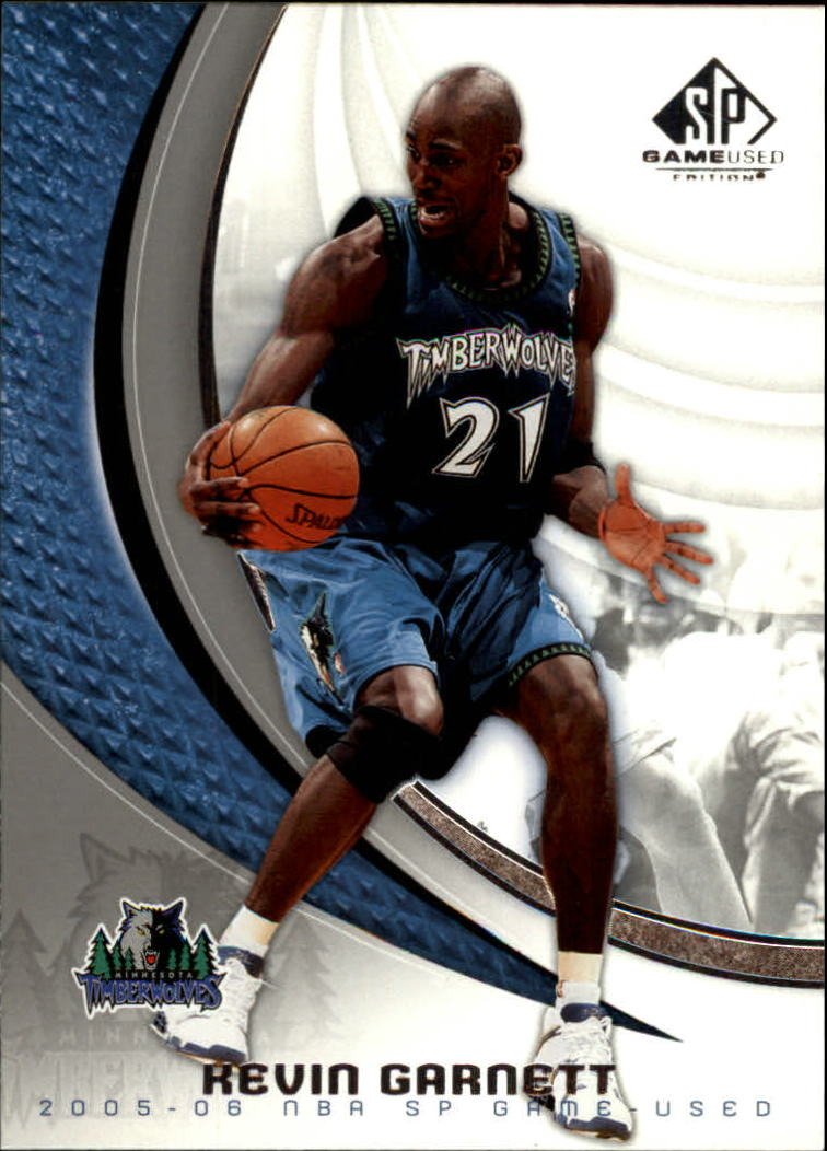 2005-06 SP Game Used #57 Kevin Garnett