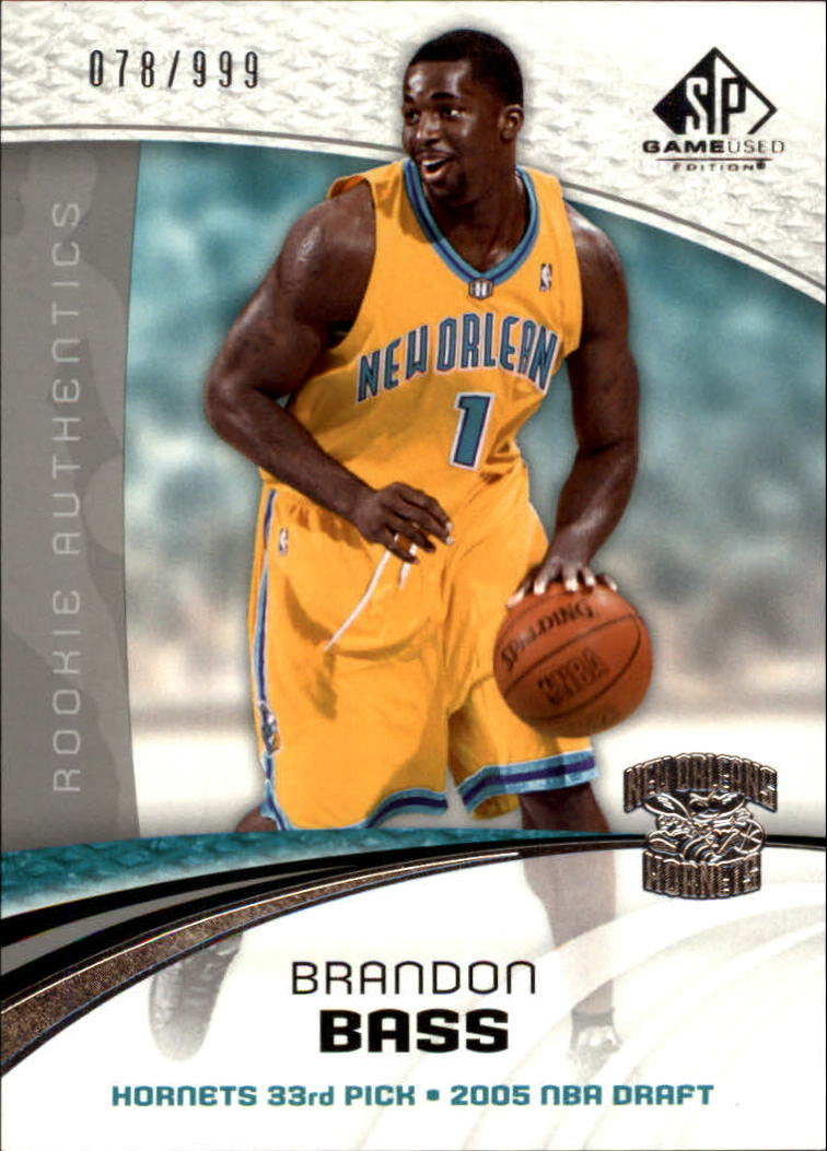2005-06 SP Game Used #114 Brandon Bass RC