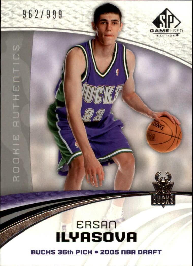 2005-06 SP Game Used #125 Ersan Ilyasova RC