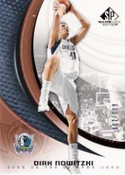 2005-06 SP Game Used 100 #20 Dirk Nowitzki