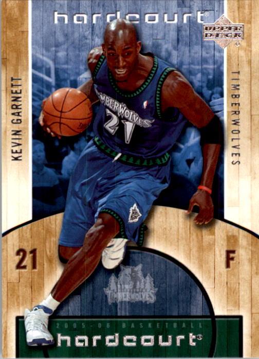 2005-06 Upper Deck Hardcourt #49 Kevin Garnett