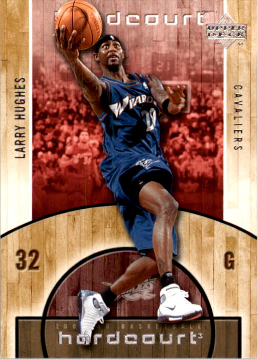 2005-06 Upper Deck Hardcourt #90 Larry Hughes